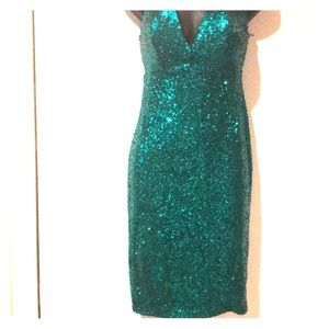 Sequined Tube top dress